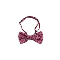 dasi kupu merah motif batik bow tie instant pria wedding houseofcuff