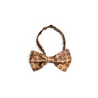dasi kupu motif batik coklat bow tie instant pria wedding houseofcuff