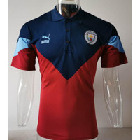 JERSEY POLO SHIRT CITII NAVY MERAH GRADE ORI IMPORT