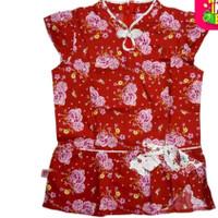 baju blouse anak cantik cheongsam bunga rodeo Original SALE