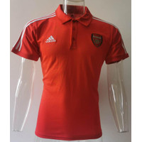 JERSEY POLO SHIRT ARSENALL MERAH GRADE ORI IMPORT