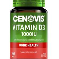 cenovis vitamin D3 1000iu 200tablet