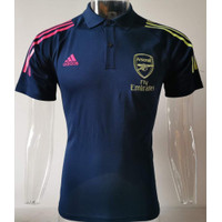 JERSEY POLO SHIRT ARSENALL NAVY GRADE ORI IMPORT