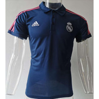 JERSEY POLO SHIRT MADRIID NAVY GRADE ORI IMPORT