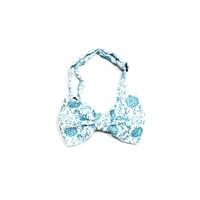 dasi kupu batik bow tie instant pria wedding biru muda houseofcuff