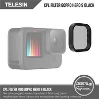 Telesin Filter CPL Polar Lens For Gopro Hero 9 Black Lensa Filter