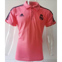 JERSEY POLO SHIRT MADRIID PINK GRADE ORI IMPORT
