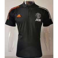 JERSEY POLO SHIRT MEN.U HITAM GRADE ORI IMPORT