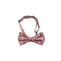 dasi kupu motif batik merah D bow tie instant pria wedding houseofcuff
