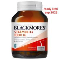 blackmores vitamin d3 1000iu isi 200 tablet asli aus