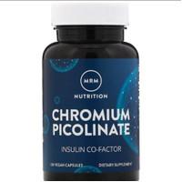 MRM Chromium picolinate 200mcg 100vegan mengurangi kadar gula
