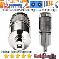 Mic Condensor Audio Technica AT2020 USB+V At2020Usb +V Original