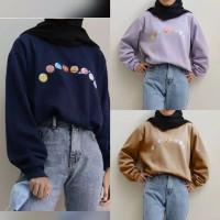 Sweater Hoodie Wanita Style (PLANET STREET)
