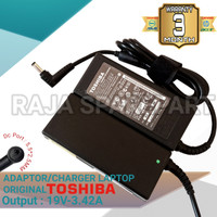Adaptor Charger Laptop Toshiba Satellite C640 C645 19V-3.42A