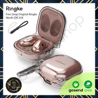 RINGKE Samsung Galaxy Buds Live Hinge Clear Case