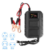 Charger Aki 20A 12V Mobil Motor LCD Smart Casan Cas Accu Basah Kering
