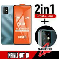 Tempered Glass Infinix Hot 10 Free Tempered Glass Kamera