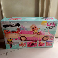 Lol surprise car pool coupe with exclusive doll,surprise pool & dance