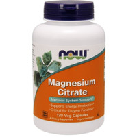 now foods magnesium citrate 120veg