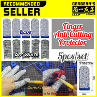 Finger Anti Cutting Protector Set 5pcs Pelindung Jari Anti Potong