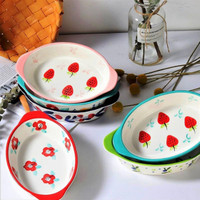 piring keramik Oval