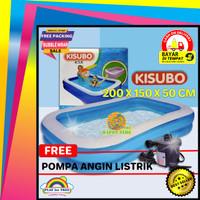 Kolam Renang Berenang Anak Jumbo Kisubo 2 Meter Paket Pompa Otomatis