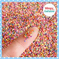 Manik Glitter Round Sprinkle Glitter Nail Art Scrapbool Resin GLT-72
