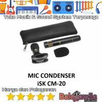 Mic Condensor Pensil ISK CM-20 CM20 CM 20 Original