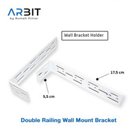 ARBIT - Double Railing Wall Mount Bracket