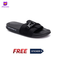 Sandal Pria Slide Footstep Footwear - Capsule type 0.3
