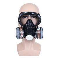 masker gas respirator full face anti dust chemical safety googles