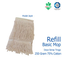 Refill Pel Alat Pel Lantai Basic Mop Cleanmatic 216864