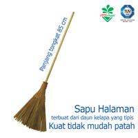 Sapu Lidi Gagang sapu halaman yard broom 216758 cleanmatic sapu taman