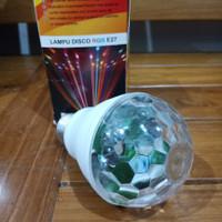 Lampu Disco RGB E27 / Lampu Hias / Lampu Disko Warna Warni Bagus 1224