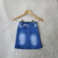 Rok jeans pendek anak perempuan rok levis anak usia 1-12 tahun