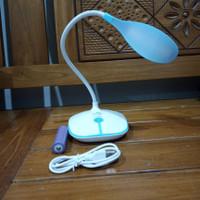 Lampu Meja Belajar Baca 3 Mode Cas Baterai Lithium 18650 Terang OJ-880