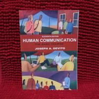 Joseph A devito Human communication the basic course eleventh edition