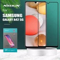 TEMPERED GLASS NILLKIN CP+ PRO FULL COVER SAMSUNG GALAXY A42 A 42