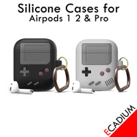 Silikon Silicone Case for Airpods Airpod 1 2 Pro - Game Boy