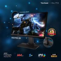 "Monitor Gaming 27"" ViewSonic XG2705-2K |2K QHD|144Hz|131% sRGB|IPS|1ms"