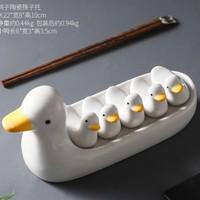 chopstick holder/tempat sumpit motif bebek