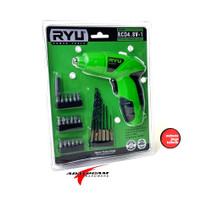 RYU RCD 4.8-1 Mesin Bor Buka Pasang Baut Charge - Obeng Cas Listrik