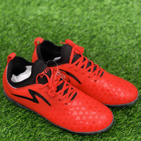 Sepatu futsal specs original CYANIDE BOA 19 in red black new