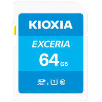 Kioxia SD Card 64GB Exceria class 10 UHS-1 Read up to 100Mb/s