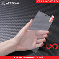 Cafele Xiaomi Poco X3 NFC Tempered Glass Anti Gores Pelindung Layar