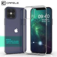 Case iPhone Mini 12 Pro 12 Pro Max Cafele Original Casing Transparan