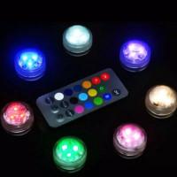 Lampu aquarium - Lampu led aquarium Mini with remot RGB