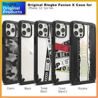 Original Ringke Fusion X Case iPhone 12 Pro Max 12 Pro 12 Mini Casing