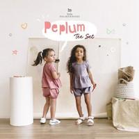 Little Palmerhaus Peplum Tee Set A