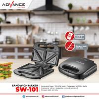 PEMANGGANG ROTI / SANDWICH TOASTER ADVANCE SW-101